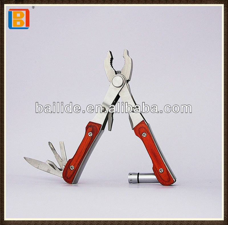 Special Design Double Heads Survival Multipurpose Hand Tool Pliers With LED