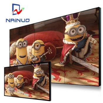 46 inch lcd video wall with narrow bezel Seamless liquid crystal interior splicing