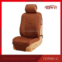 General size fitting car seat cushion, car seat cover with air condition cooling function