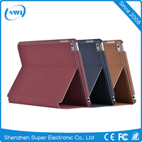 High Quality Flip PC Leather Protective Folding Case Smart Cover Shell For iPad Mini 4