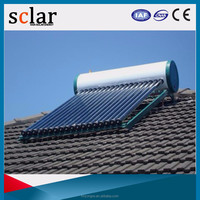 Pressurized 200Liters Heat Pipe Solar Water