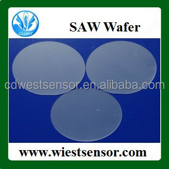 Quartz Surface Acoustic Wave SAW Wafers