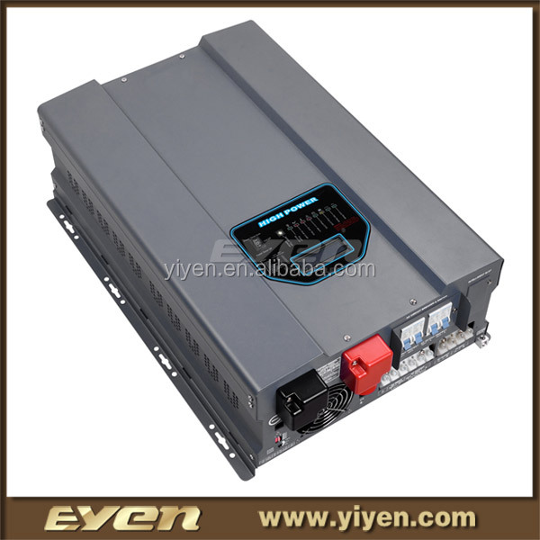 HPV pure sine wave inverter 8000W 48v dry battery inverter solar power system home
