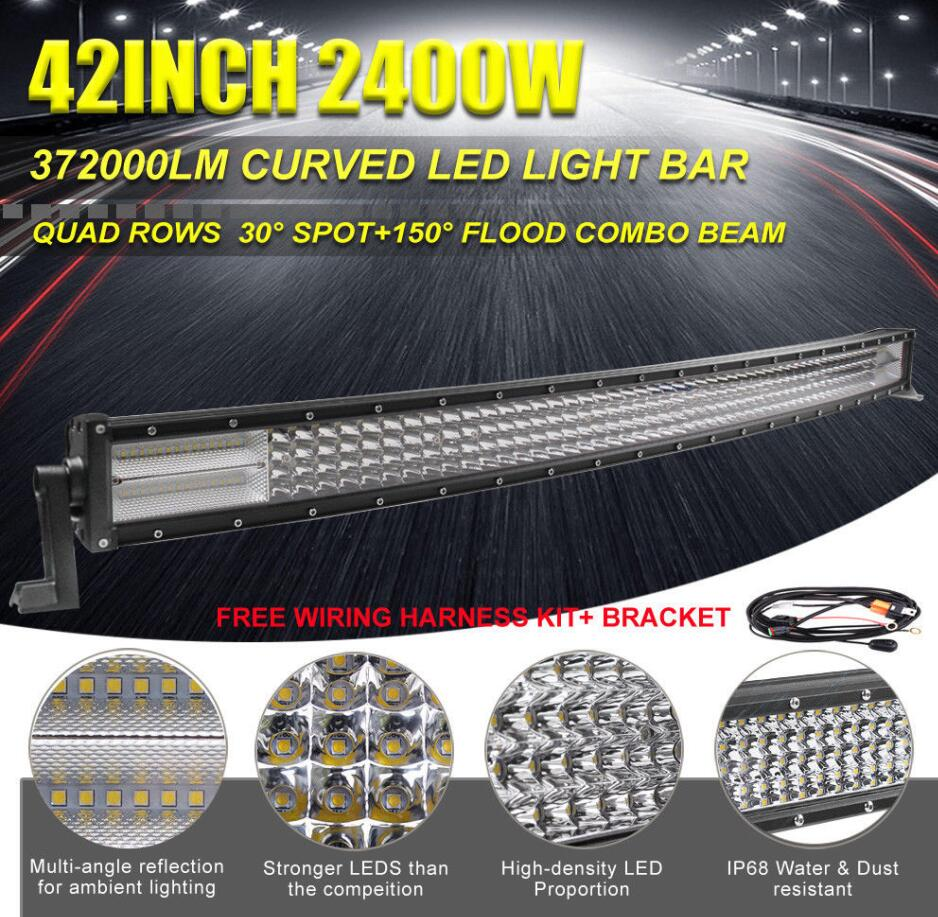 Auto Lighting System Car Parts Led Driving Light Bar Waterproof 50 Inch Wiring Harness Free Download