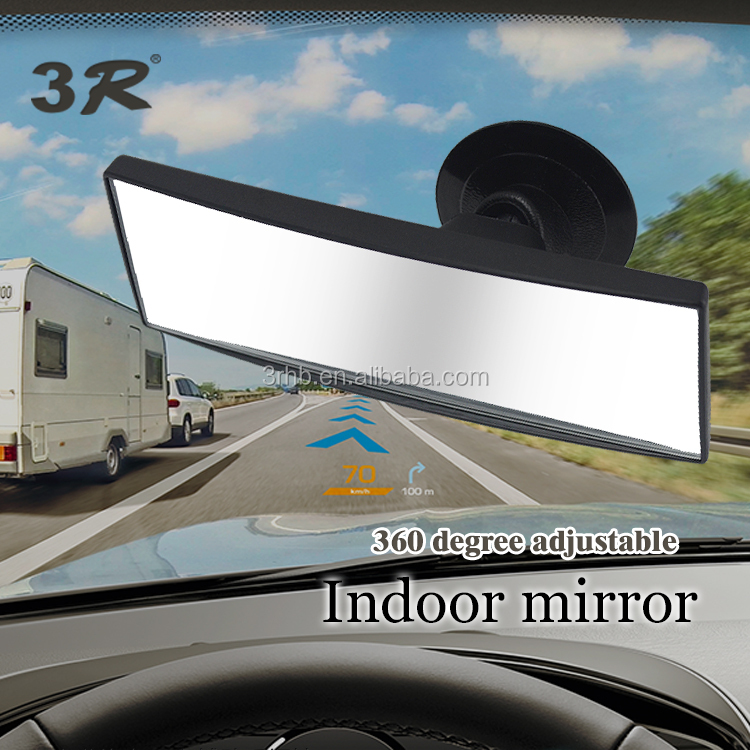 Safe driving easy for car interior blind spot rear view rearview wide angle adjustable suction cup room baby car mirror