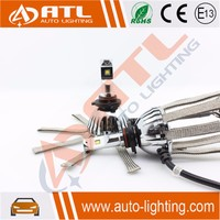ATL High quality automotive led headlights car h7 led headlight bulbs