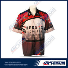 Sublimation racing team wear wholesale