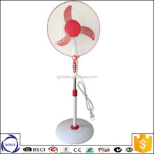 45w copper motor 110v/220v 16inch 18inch round base electric stand fan