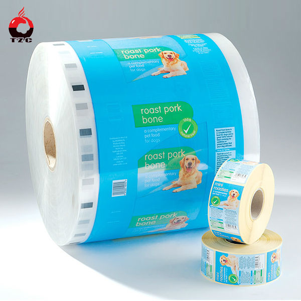 plastic opp film roll for meat bone meal animal feed packaging