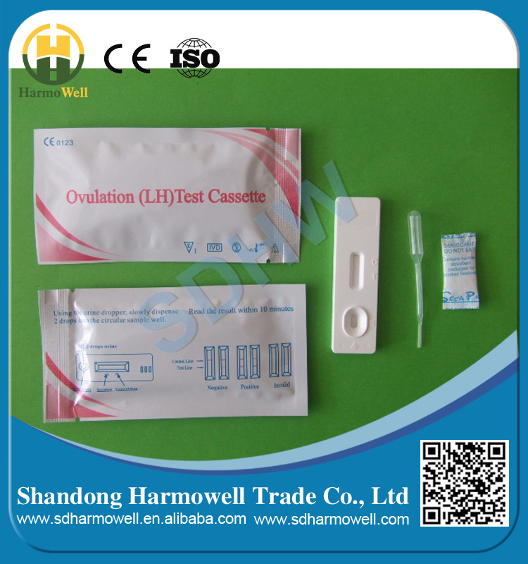 Rapid one step ovulation test cassette kits for diagnostic