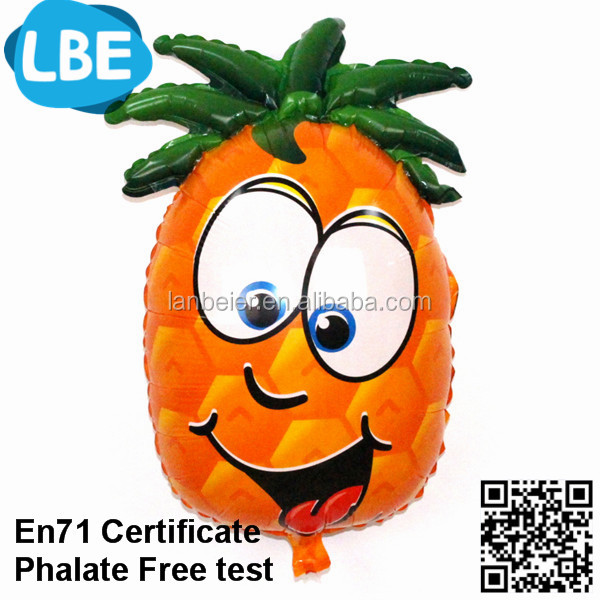 Inflatable custom fruit shaped helium balloon
