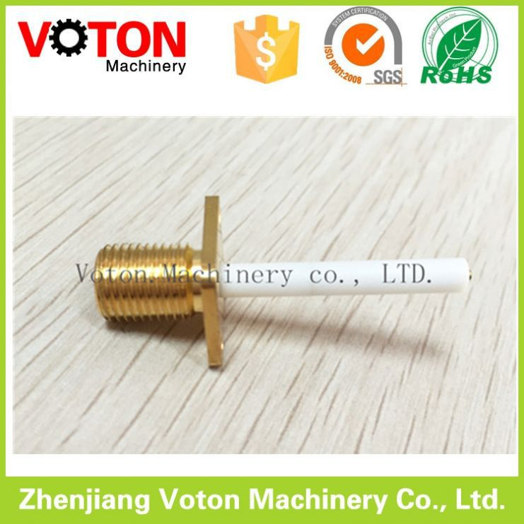 High Quality High Quality sma gold plated type connector Female jack 4 <strong>holes</strong>