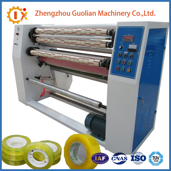 GL--215 China supplier bopp stationery adhesive tape slitter rewinder