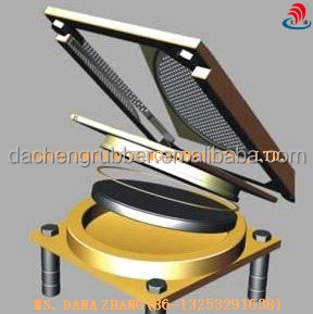 Guided Sliding Pot Bridge Bearings/Free Sliding Pot Bearing/PTFE pot bearings