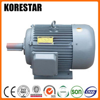 Korestar Y315L1-2 160KW 220HP ac construction squirrel cage induction motor