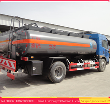 New design FAW 7 ton truck chemical pump liquid Chemical Tanker truck