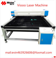 CNC laser engraving machine for engrave leather wood acylic