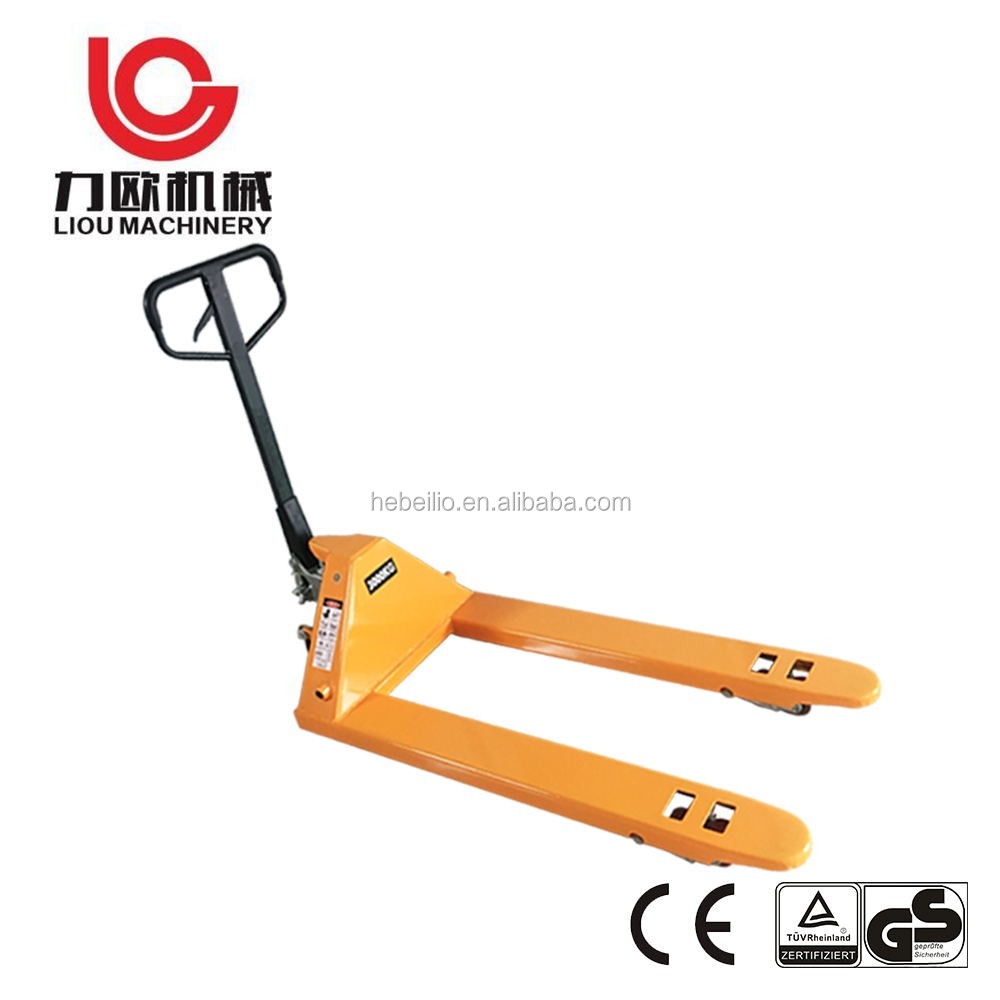 Factory price df 2.5 ton ce hand pallet truck with german hydraulic pump