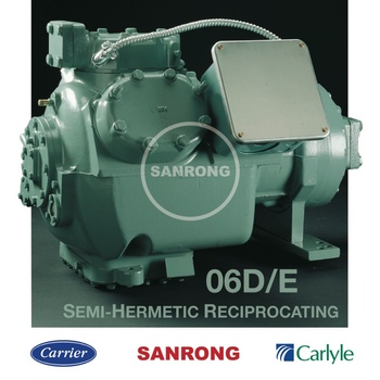 New 06D 06E 06CC Refrigerator Carrier Compressor, Air Conditioning Carlyle Compressor, Semi-Hermetic Reciprocating Compressor