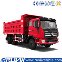 Dump truck 10 Wheel Tipper truck 30 ton Foton dumper truck for sale