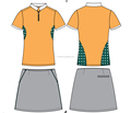 ladies' golf polo shirts and skirts