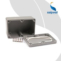 SAIP/SAIPWELL 120*80*55 Junction Box Multi Function Electronic Manufacture China Wholesale Aluminium Box Case