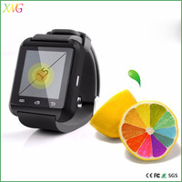 Hot selling bluetooth smart watch waterproof U8 watch women support pedometer android mobile phone
