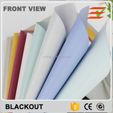 Blackout Roller Blinds Waterproof Fabric Curtain