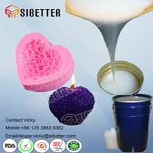 Liquid Silicone with Hardener to Make Silicone Mould for Candles