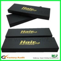 custom packaging boxes for hair extensions wholesales