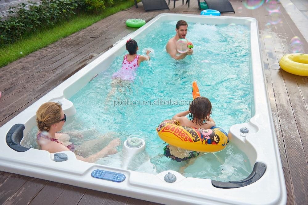 Luxury Balboa Swimming Pool Hot Tub Combo Outdoor Used