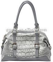 2012 new design Europe style croco skin leather bag laieds handbags fashion!