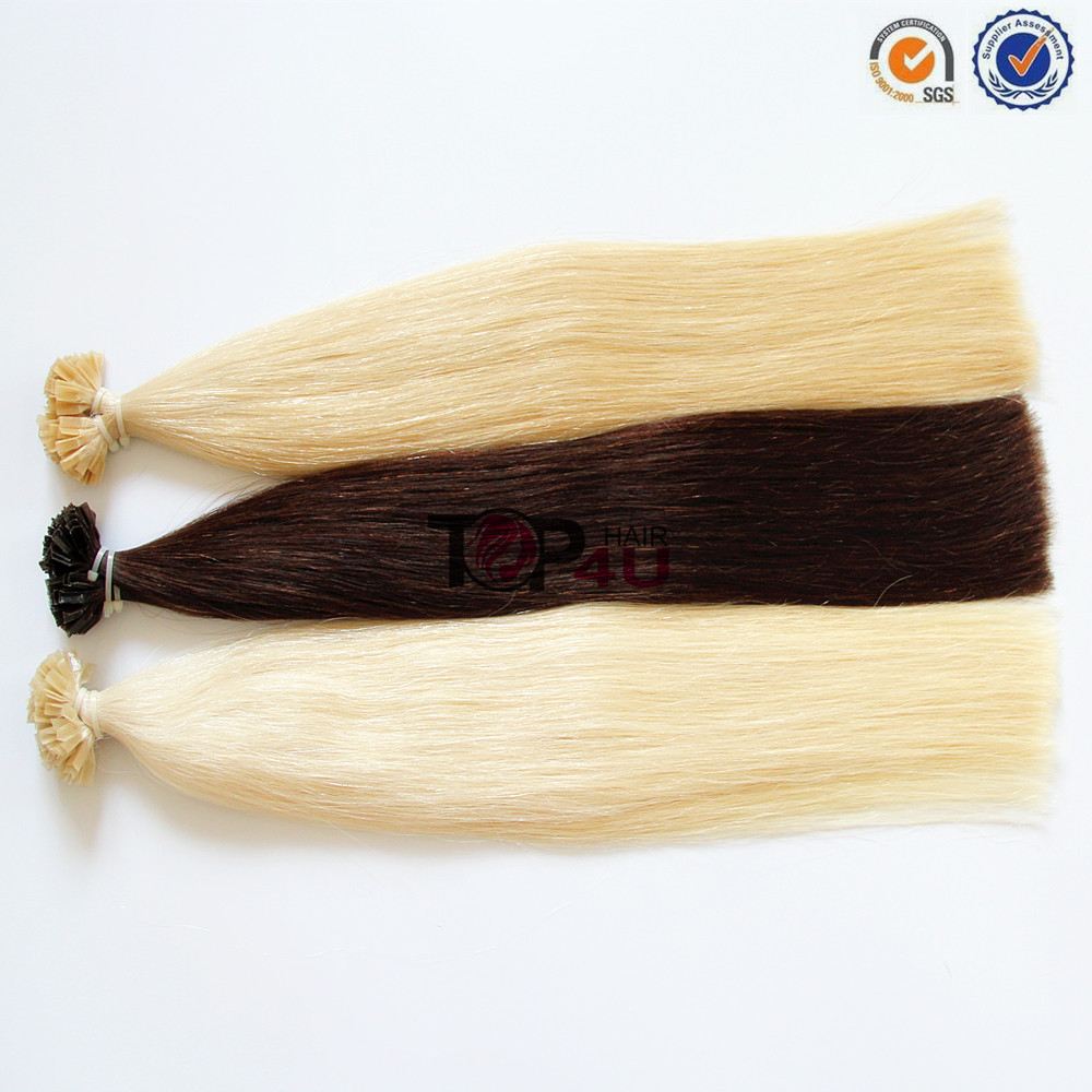 Popular In UK Tangle free No shedding Thick Bottom Double Draw Human Hair Extension