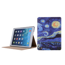 2017 new model pu leather pc smart cover tablet case for ipad 9.7 inch ,for 9.7 inch ipad case