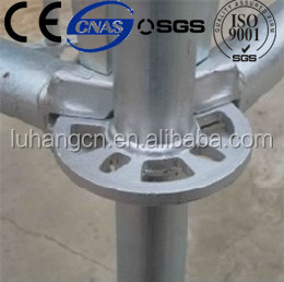 SGS certified layher China australia standard galvanized scaffolding supplier for construction