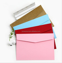 Solid Candy Color Envelopes Wedding Birthday Invitation Envelopes