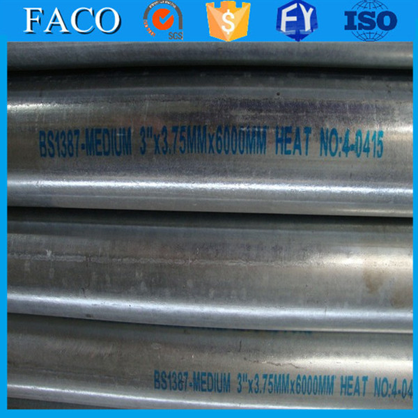 trade assurance supplier st42 pre galvanized steel pipes galvanized steel pipe carbon steel