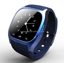 2016 M26 Stylish Bluetooth Touchscreen Smart Wrist Watch Bracelet Bluetooth Smart Watch mobile Phones