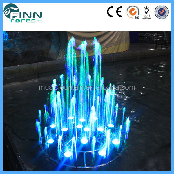 Amusement Park playground mini musical fountain for decoration