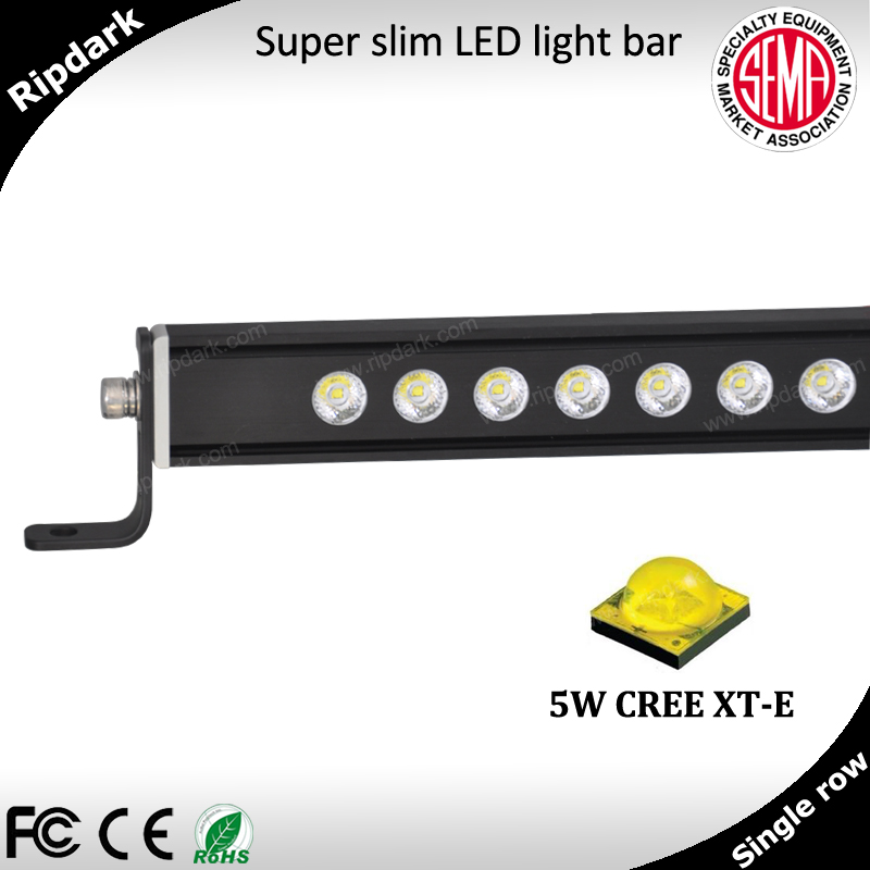 5w cree XT-E led 30w mini light bar for truck offroad