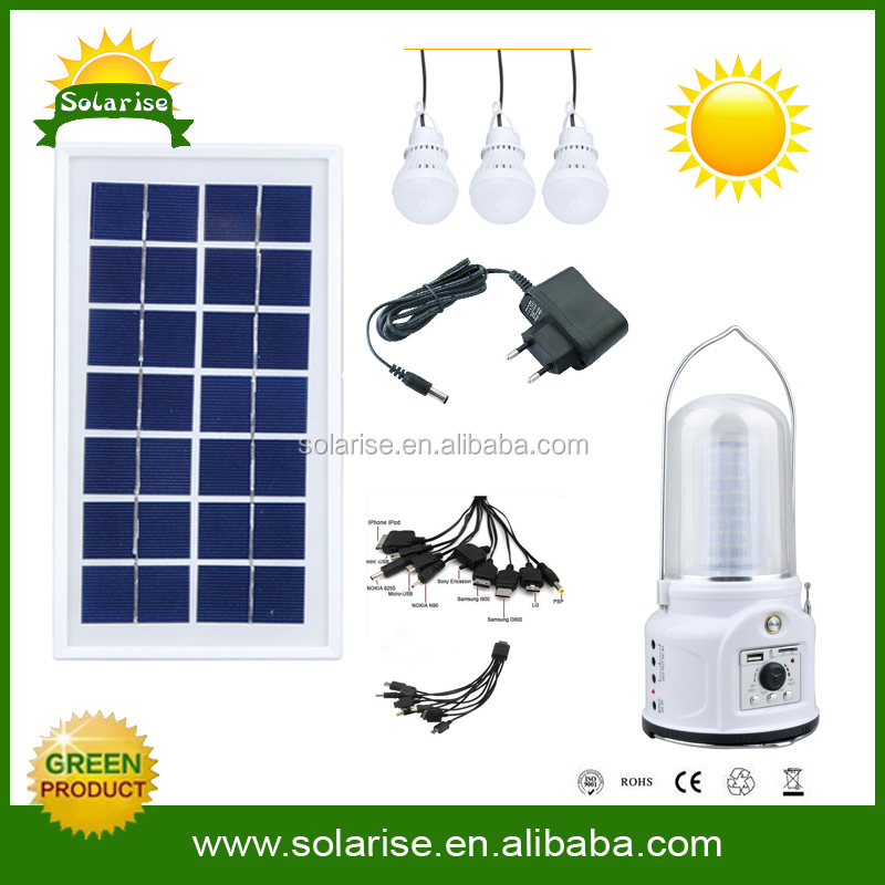 Renewable energy equipment cheap portable solar generator light mobile phone charger for house use