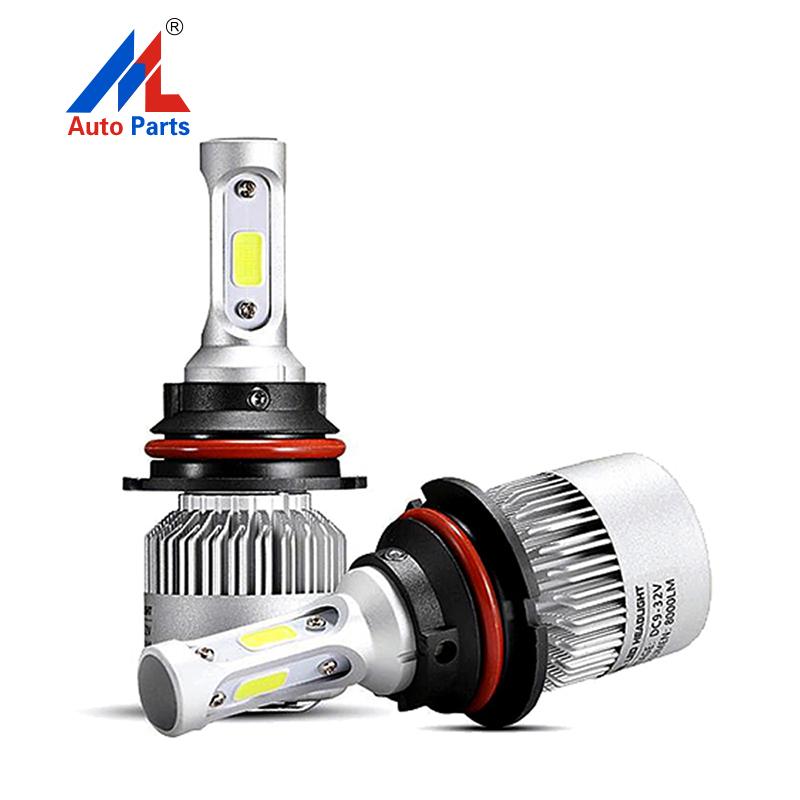 E2 COB LED Headlights 9007 Led Headlight Bulbs For Car