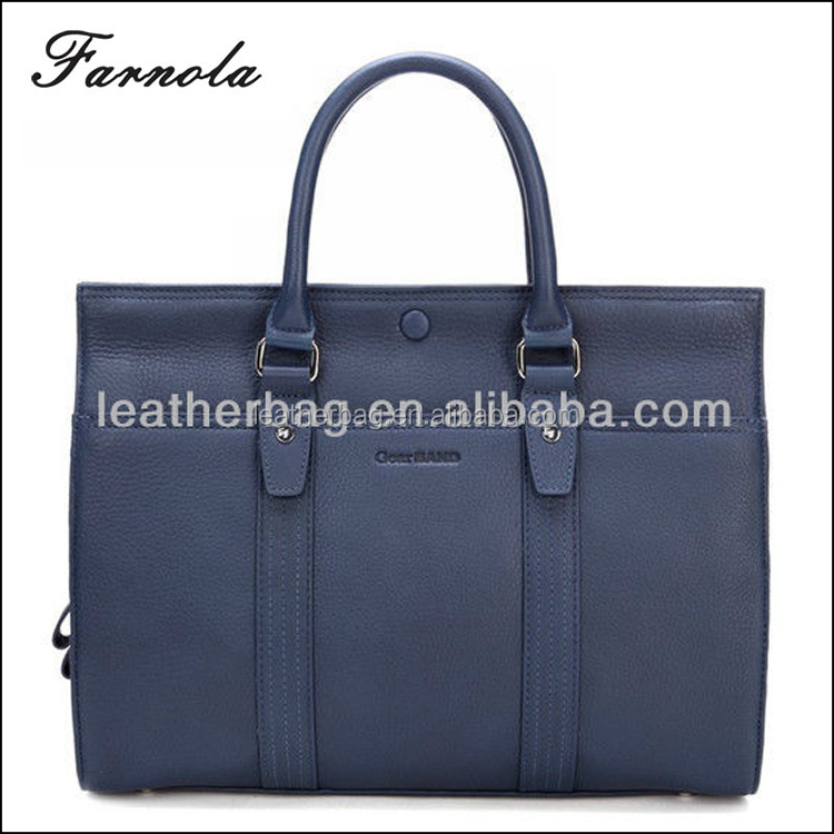 2016 fashion initial italian designer men leather bags and handbags