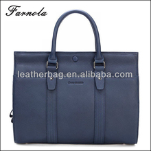 2018 Fashion Initial Italian Designer Men Leather Bags and Handbags
