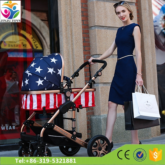 light weight one touch folding baby stroller pram / baby doll stroller with car seat