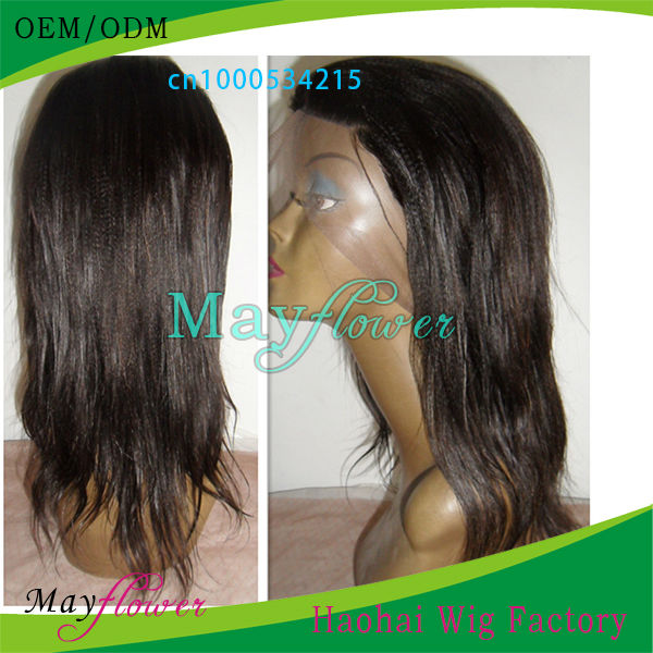 hair wig making machine/handtied lace wigs virgin Brazilian hair bleached double knots