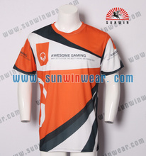 New trend wholesale custom dry fit gaming jersey from manufacturer