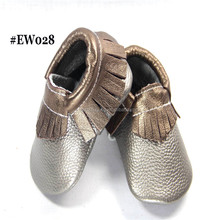 Newest Top Quality Soft Sole Genuine Leather Baby Moccasins Shoes