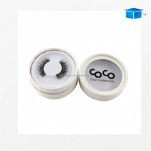 Round Eyelash Packaging Box UK Suppliers with Clear Window