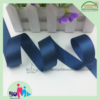 "7/8"" lt. navy gold purl ribbons ,glitter satin ribbons for hair bows, garment accessories"